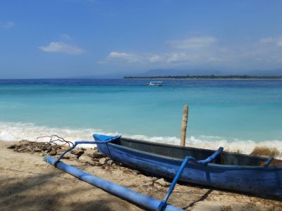 image of a boat on a beach